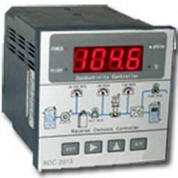 Controlador panel de montaje con medidor de conductividad